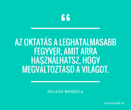 Nelson Mandela idézet oktatásról