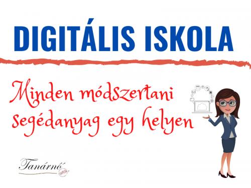 Digitális oktatás: minden módszertani segédanyag egy helyen